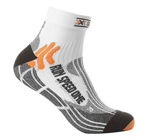 X-Socks Speed One - Calcetines deportivos unisex multicolor white/ black Talla:42-44