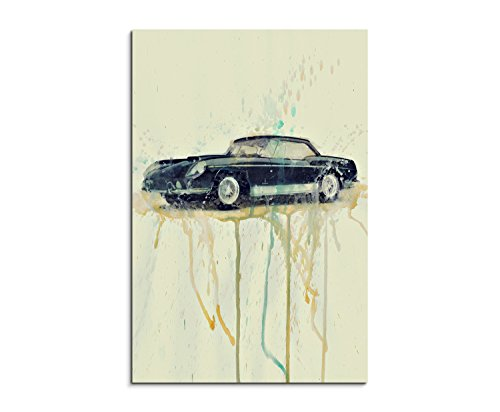 paul-sinus-art-ferrari-400-superamerica-90x60-aluminum-wall-canvas-90-x-50-x-3-cm-multi-coloured