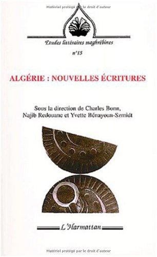 Algérie nouvelles écritures