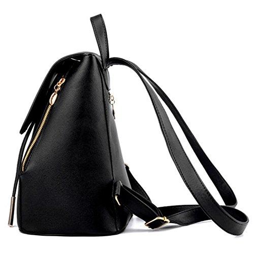 Sacchetto di spalla dello zaino delle signore delle ragazze delle donne delle donne del zaino del sacchetto di spalla di Myleas Avorio