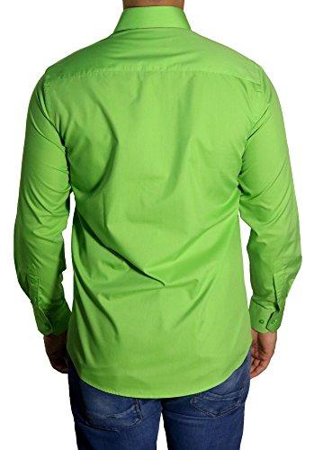 MUGA -  Camicia classiche  - Basic - Classico  - Maniche lunghe  - Uomo Verde