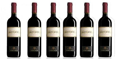 6 bottiglie di Grotta Rossa - Carignano del Sulcis DOC