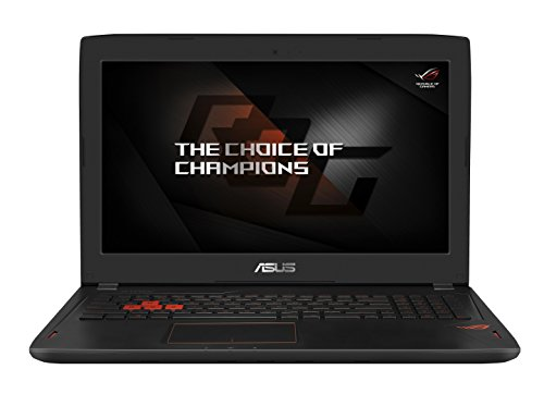 Asus ROG GL502VS-GZ223T 39,6 cm (15,6 Zoll, mattes Full-HD Display) Gaming Notebook (Intel Core i7-7700HQ, 16GB RAM, 512GB SSD, 1TB HDD Festplatte, Nvidia GTX1070 8GB VRAM, Win 10) schwarz