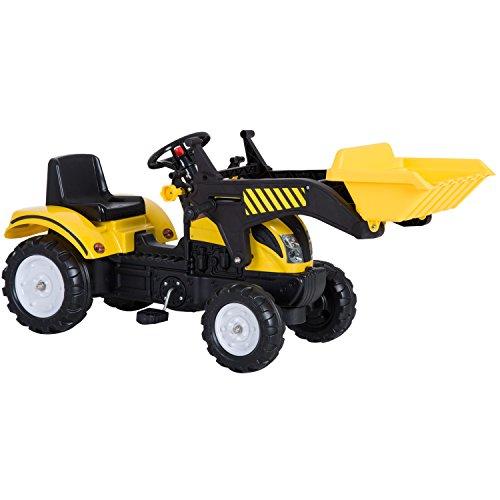 Homcom Tractor Pedal Excavadora Camión + Pala Delantera...