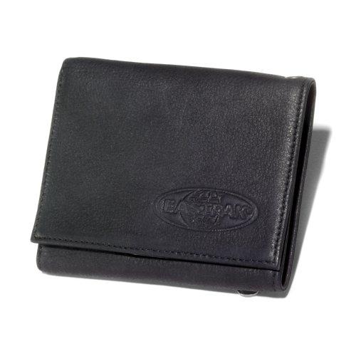 EASTPAK Crew Geldbörse Schwarz Leather