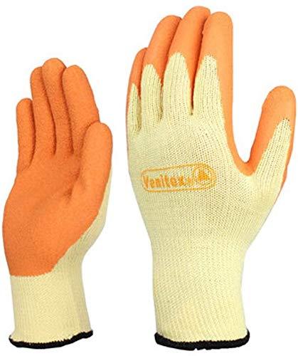 FZCC Latex-beschichtete Schutzhandschuhe, Reiöszlig;Feste Schutzhandschuhe, InduStößehandschuhe, Allgemeine Arbeitshandschuhe
