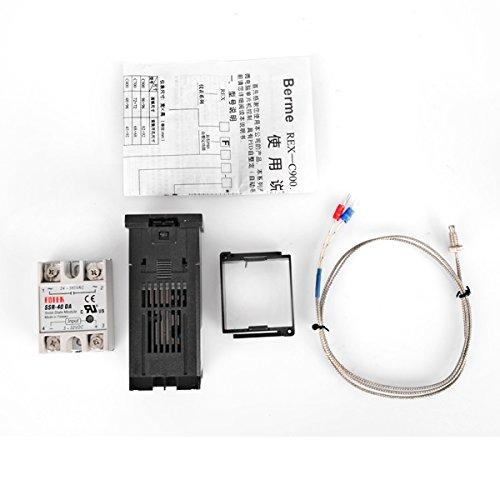 rex-c100110–240V Digital PID Temperatur Controller Kit (Standard-prozess-energie)