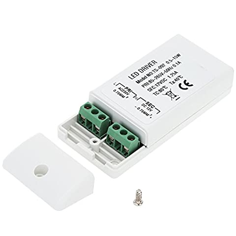 MagiDeal AC 85-265V à DC 12V 15W LED Adaptateur Alimentation Driver Transformateur
