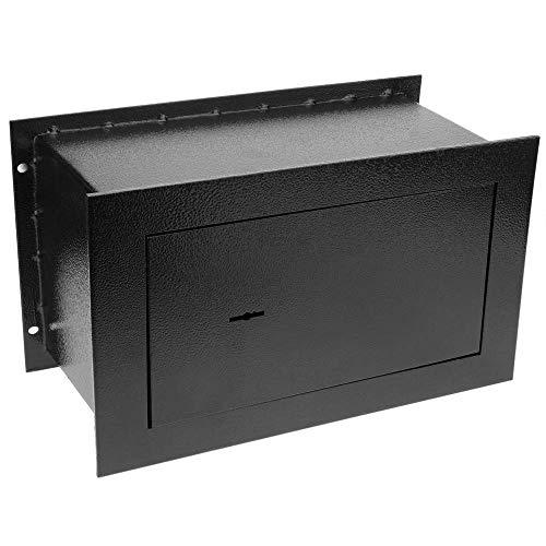 PrimeMatik - Caja Fuerte de Seguridad empotrada de Acero con Llaves 36x15x23cm...