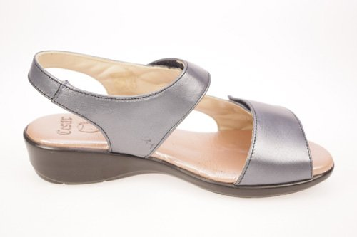 MADE IN SPAIN Donna sandali Grigio MADE IN SPAIN Donna sandali Grigio ...