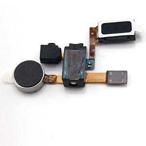 Hörmuschel für Samsung Galaxy SAMSUNG S2 i9100 Lautsprecher Earphone Earpiece mit Vibrationsmotor inkl 2 x Schraubenzieher für einfachere Installation MMOBIEL