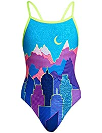 Girls Toddler Girls One Piece Swi Shop For Cheap Funkita Fine Lines Toddler Girls Printed One Piece