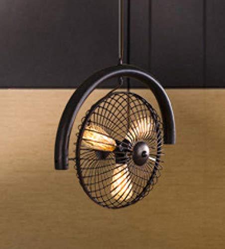 Vintage araña de hierro forjado ventilador eléctrico retro araña de hierro forjado...