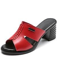 Para es Tacon Bajo 36 Zapatos Zapatillas Amazon Sandalias xpqRf0wq1