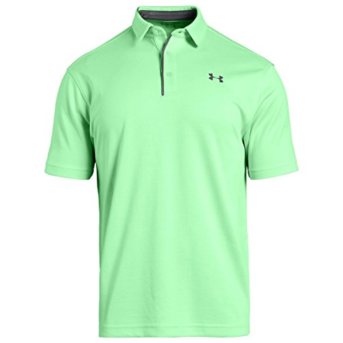 Under Armour 1290140 T-Shirt Homme, Green Typhoon/Graphite (375), FR : Taille Unique (Taille Fabricant : XL)