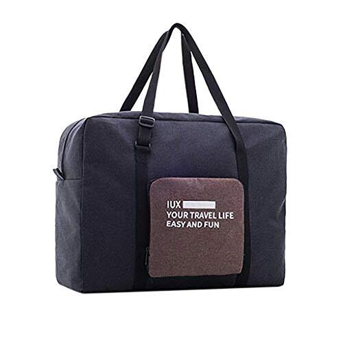 Wawer Faltbare Reisetasche weitermachen Seesack Weekender über Nacht Sport Gym Duffle Bag für Frauen und Mädchen