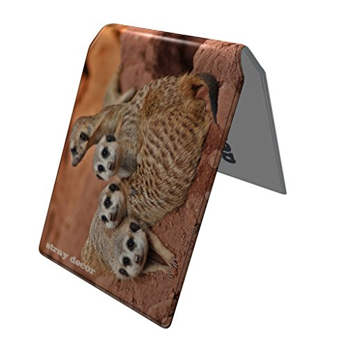 Image of Stray Decor (Meerkats) Bus Pass Wallet / Travel, Credit or Oyster Card Holder