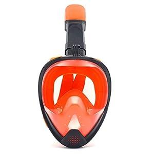 Fansport Schnorchel Maske Wasserdichte Anti Fog Tauchmaske Vollmaske für den Außenbereich