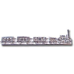 Unbekannt Krawattenklammer antique train II /1c