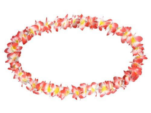 Lot de 120 collier Hawaïen ROUGE BLANC JAUNE \