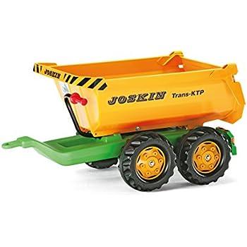 Rolly Toys - 12 226 4 - Remorque - Basculante Rollyhalfpipe Joskin - Double Essieux