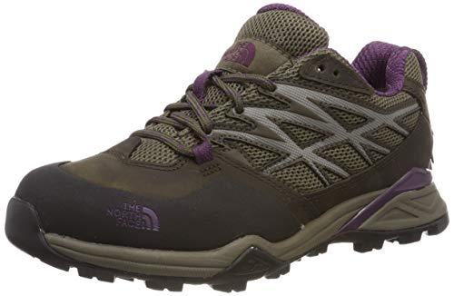 The North Face Hedgehog Hike Gore-Tex Damen Trekking- & Wanderhalbschuhe,  Mehrfarbig (Weimaraner Brown/Black Currant Purple Aux), 37 EU