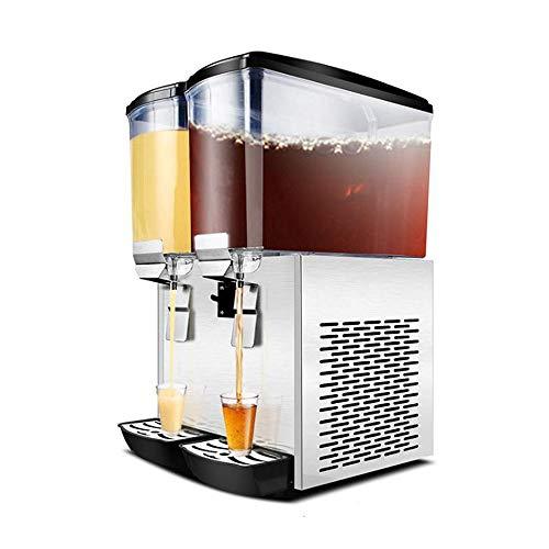 Chunchun 0.2L kommerzieller vollautomatischer heißer und kalter Getränkeautomat robuster Edelstahl [westliches Restaurant] -