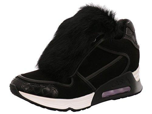ASH Sneaker mit Kaninchen Black zoIl1