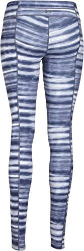 Under armour pantalon de fitness pour femme studio printed leggings uA Bleu - Faded Ink Blue