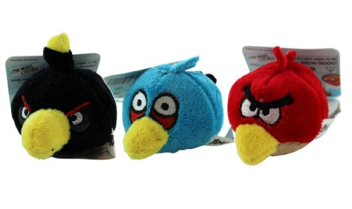 Angry Birds Pencil Toppers (3 Piece Set) – Angry Birds Blush Pencil Toppers by Rovio