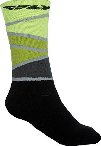 Fly Racing Motocross & Mountainbike Socken dick MX lime-grün-schwarz MX & MTB Socks L/XL