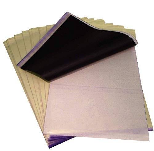 Dctattoo 20 X Tattoo Transfer/Thermo/Schablone Papier (Thermo-transfer-papier)