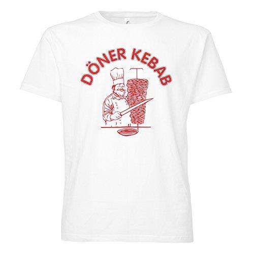 ShirtWorld - Döner Kebab - T-Shirt Weiß