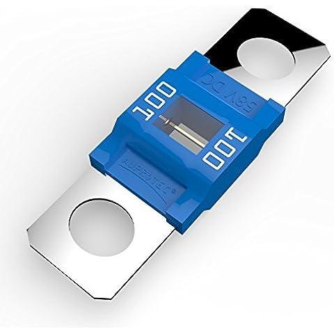 Auprotec® MIDI fusible de alto voltaje atornillable 40A - 100A selección: 100A Ampere azul, 3 piezas