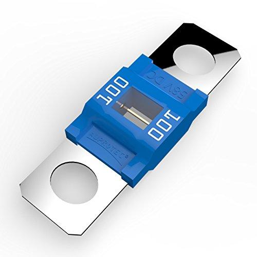 Auprotec® MIDI fusibile ad alta corrente avvitarsi 40A - 100A selezione: 100A Ampere blu, 5 pezzi