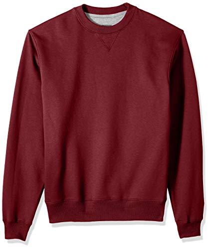 Champion Herren Cotton MAX Fleece Crew Sweatshirt, Scharlachrot, 3X-Large - Max 90 Caps