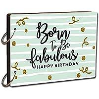 Printelligent DIY Scrapbook Photo Album Diary - Creative Gifts for Anniversary - Birthday