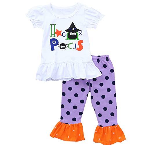 SEWORLD Baby Halloween Kleidung,Niedlich Kleinkind Baby Mädchen Jungen -
