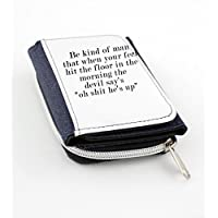 Wallet with Quote for respect in life.