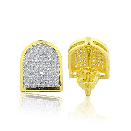 midwestjewellery-orecchini-a-bottone-da-uomo-in-oro-giallo-10-ct-orecchini-con-diamante-1-3cttw-8-mm