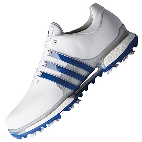 pretty nice 417b7 82b1a adidas Men s Tour 360 Boost 2.0 Golf Shoes, (White Blue F33791),