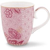 Becher Aus Porzellan Spring To Life In Pink Von PIP STUDIO 350ml 51002