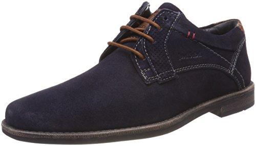 Andrew 21, Zapatos de Cordones Derby para Hombre, Azul (Blau-Kombi 501), 41 EU Josef Seibel