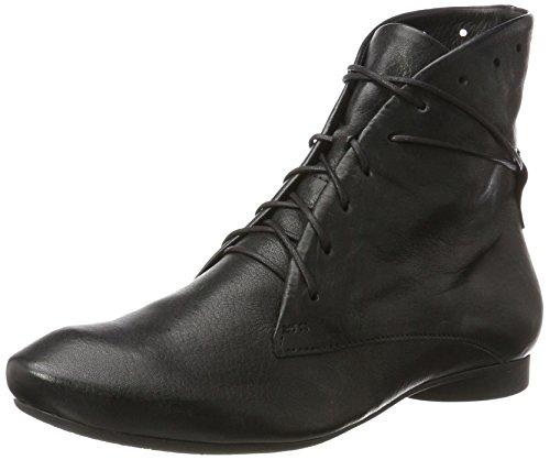 Think Guad, Stivali Desert Boots Donna Nero (Schwarz 00)