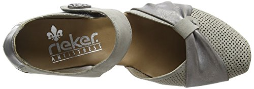 Rieker 43721 Damen Pumps Grau (grey/grey / 41)