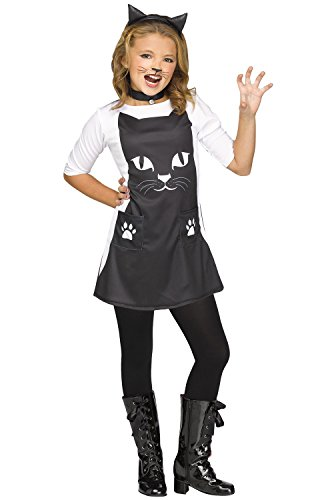 Girls Feline Chic Cat Halloween Costume