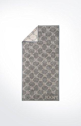 JOOP! - Frottier Handtuch in verschiedenen Größen und Farben, Cornflower (1611) , Dessin:Graphit (70), Größe:3 Gästetücher (30x50 cm)