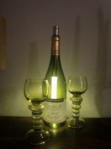 Stablampe Bottlelight / LED Stableuchte / Beleuchtung von Weinflaschen / Bottle Light, Bottlelight...