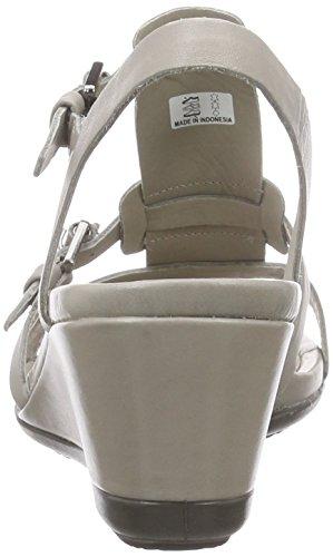 Ecco Ecco Touch 45 Ws, Sandales à plateforme femme Beige - Beige (MOON ROCK01459)