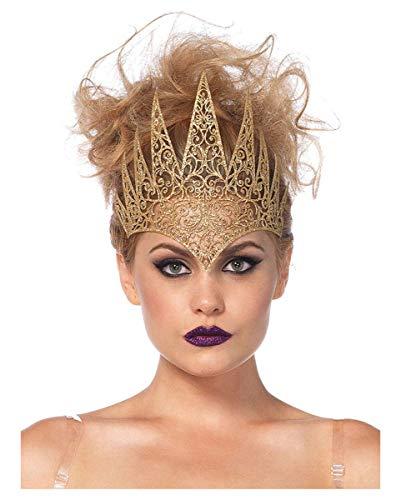 Horror-Shop Königinnen Krone aus Eva One Size für Kostümpartys